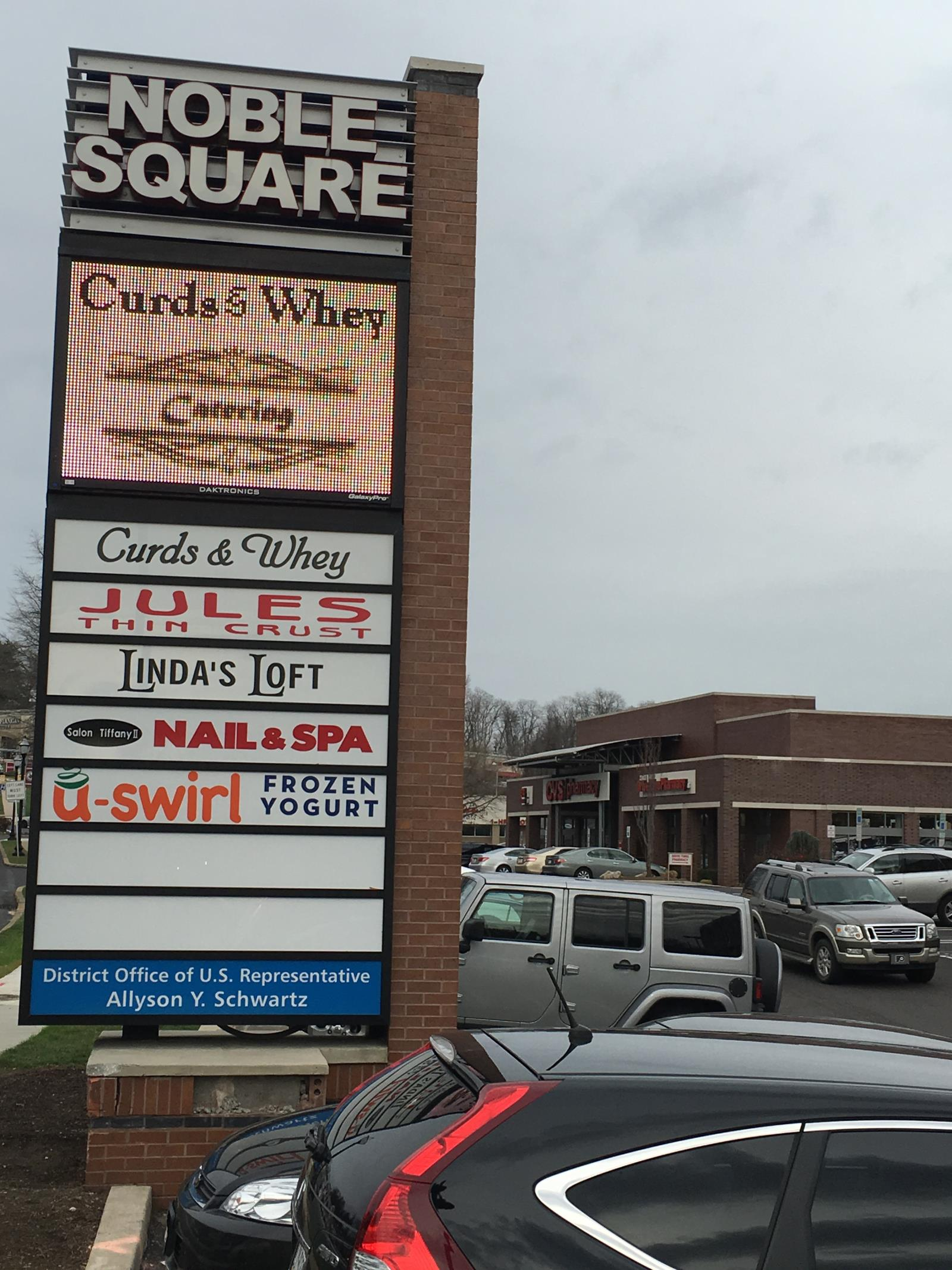 Noble square sign