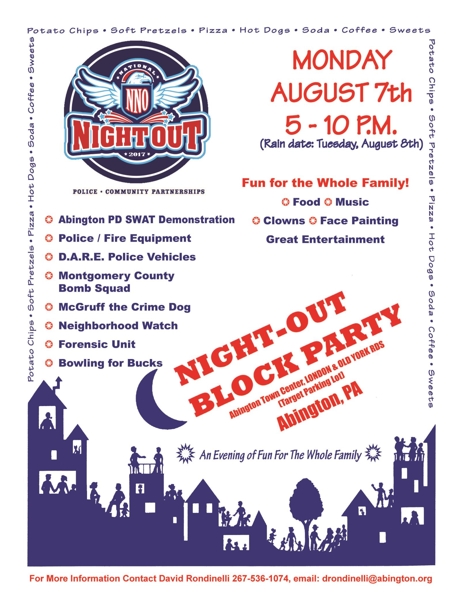 Flyer Night Out  2017