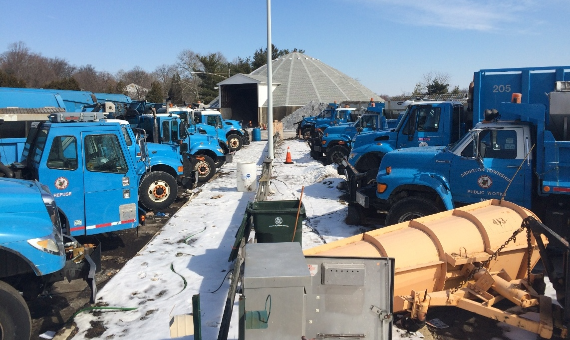 Public Works Plow fleet