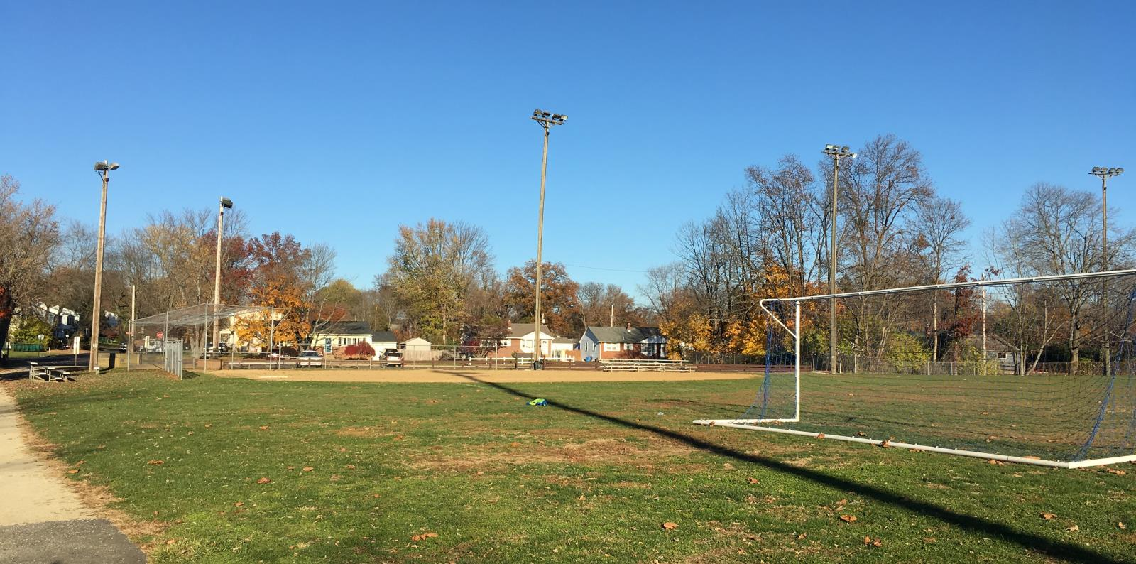 Roslyn Park Ball field