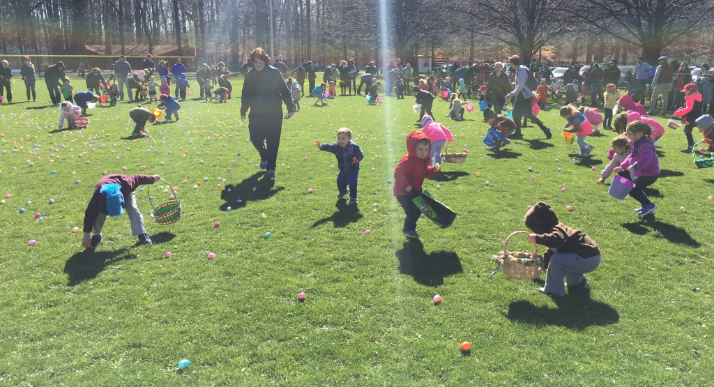 Easter egg hunt 2017 1
