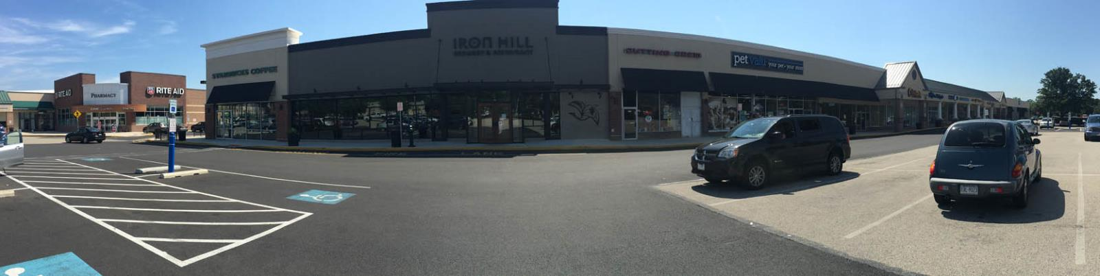 Hungtindon Valley shopping center panorama