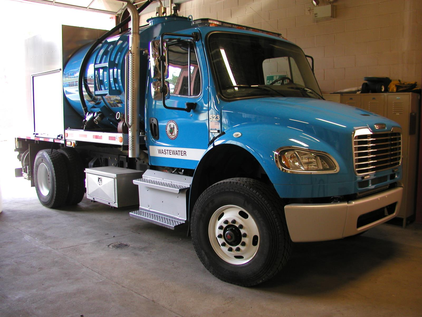 WastewaterFlushTruck