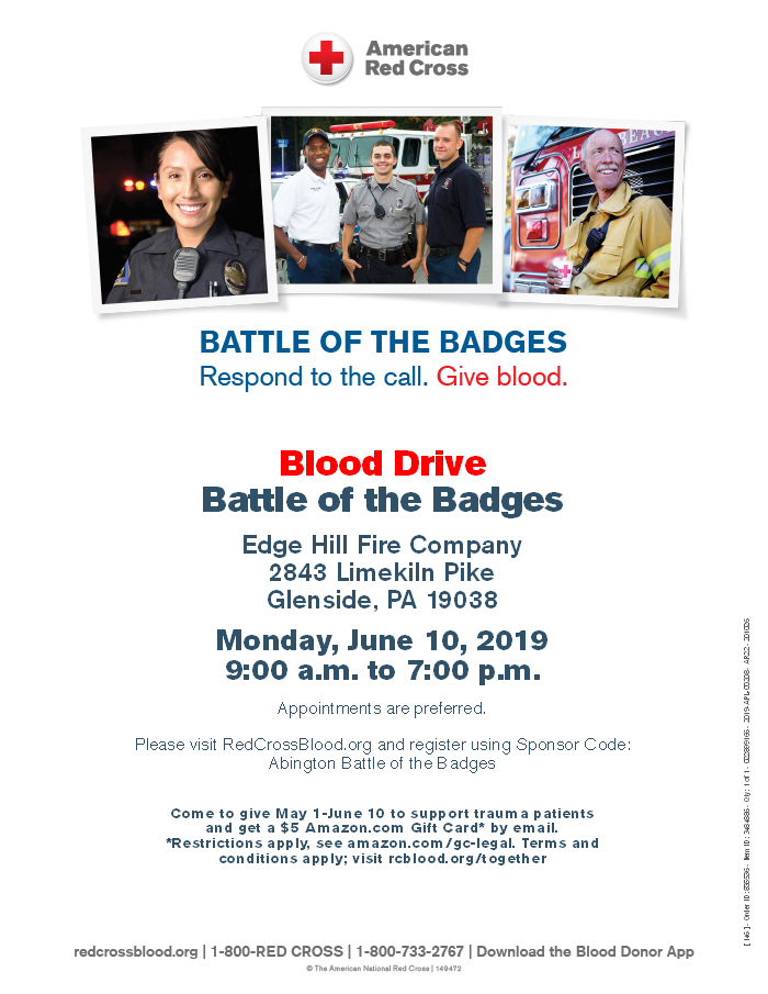 Blood Drive June 10