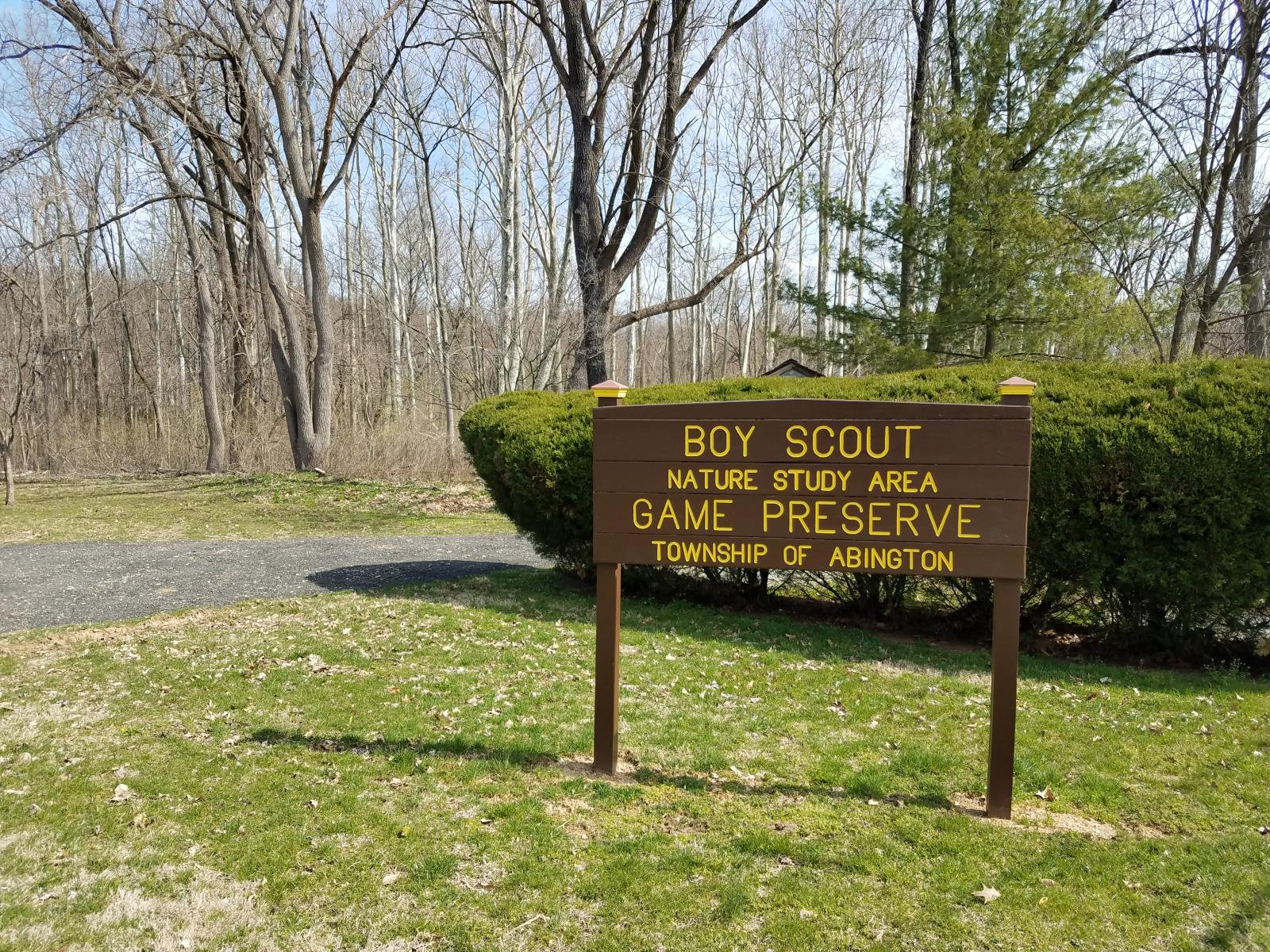 Boy Scout Game Preserve