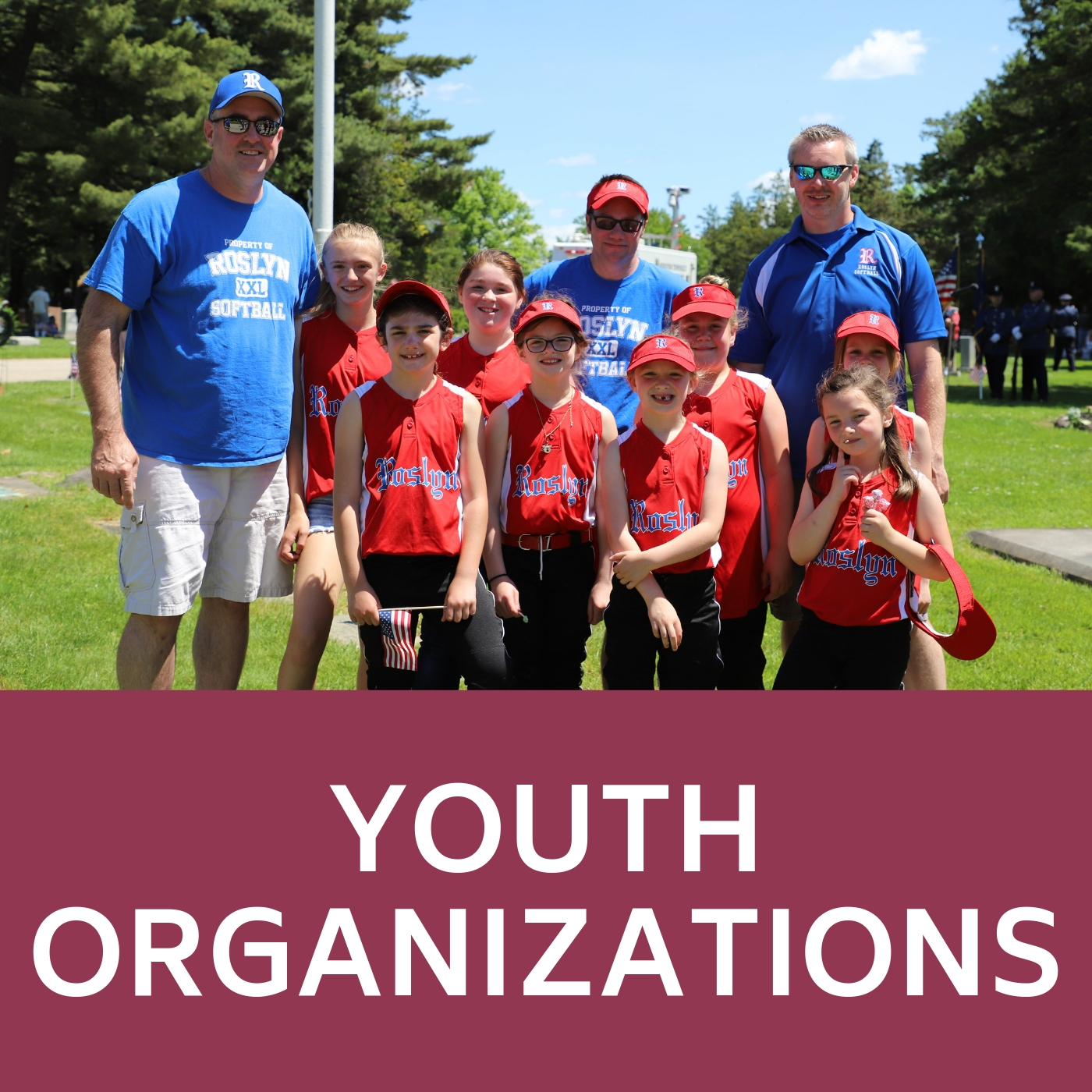 Youth Organization Icon that links to youth organizations webpage