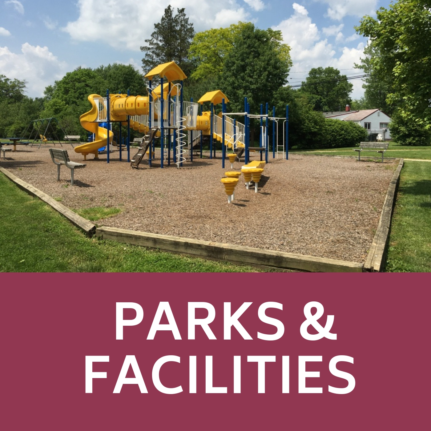Parks and Facilities Icon that links to Parks and Facilities Icon