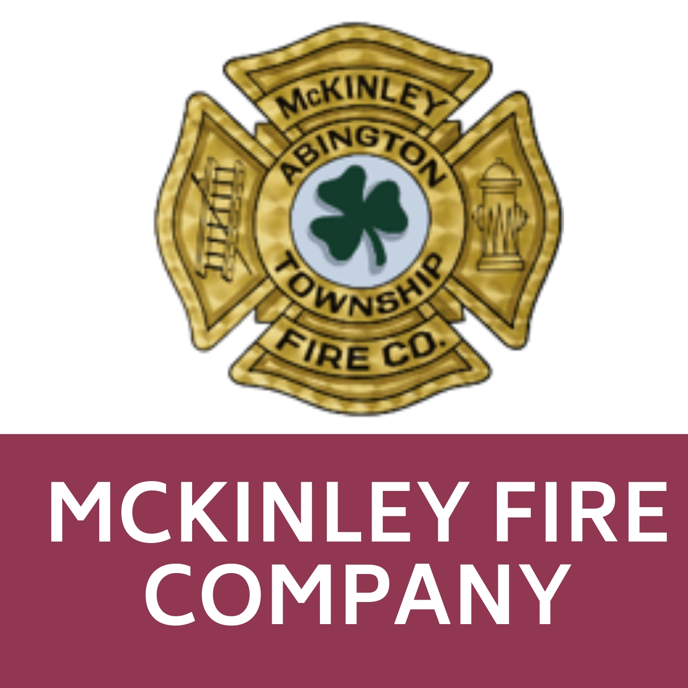 McKinley Fire Company Symbol that links to https://mckinleyfire.org/.