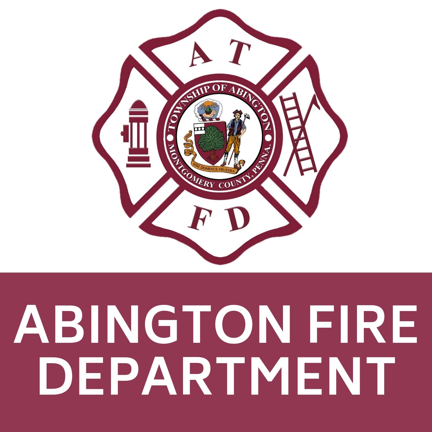 Abington Fire Department Symbol that links to http://www.abingtonfd.org/.