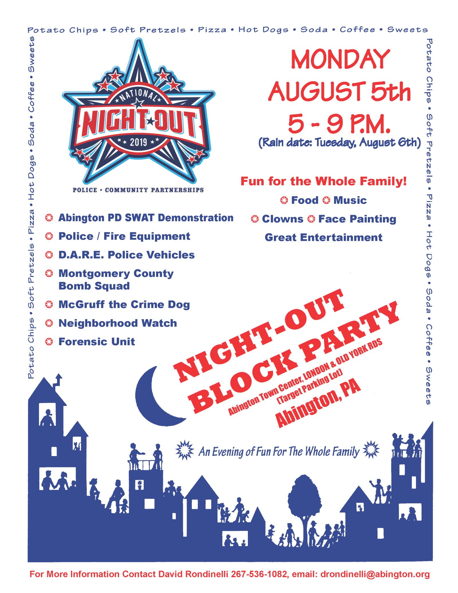National  Night Out - Flyer 2019