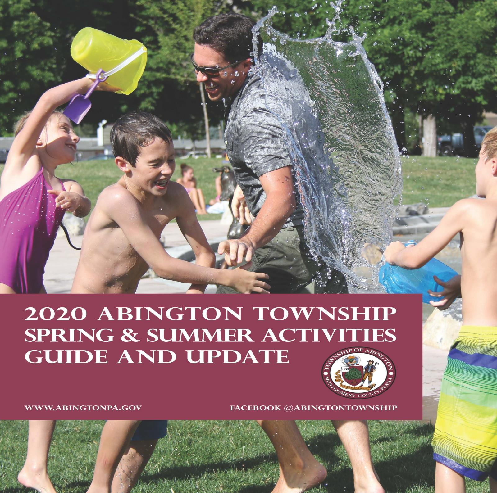 Cover Page from 2020 Summer Activities Guide FINAL