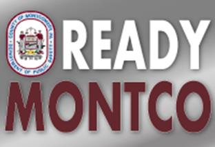 Ready Montco Icon that links to information about the Montgomey County's Emergency Notification Program