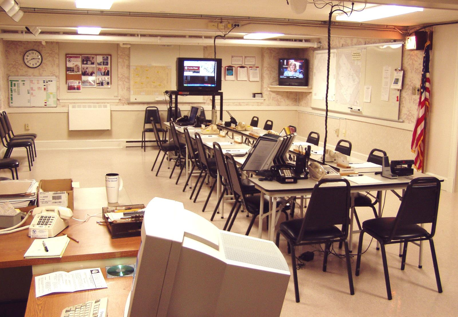 Emergency Operations Center at Abington Township