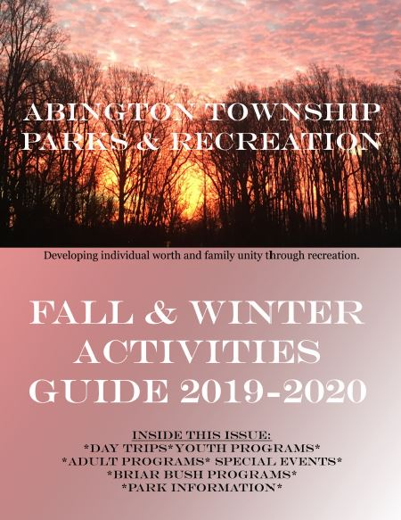 2019-2020 Fall and Winter Activities Guide Front Cover